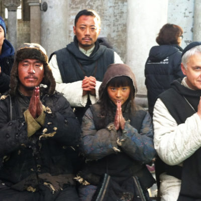 Working with Tim Robbins and Zhang Hanyu on 1942