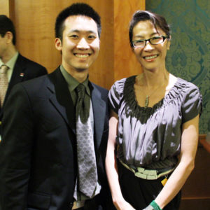 Michelle Yeoh in Singapore Promoting Volunteerism