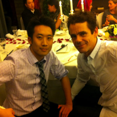 "Alfred Hsing, Tom Tykwer (director ""Run Lola Run"")"