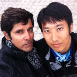 Indian Actor Vikram and Alfred