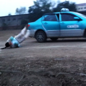How to Survive Jumping out of a Car