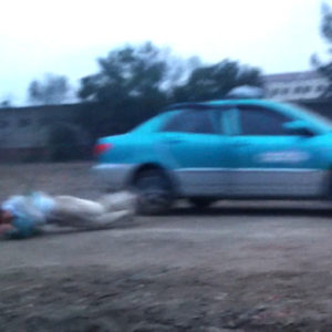 Jumping Out of a Moving Car