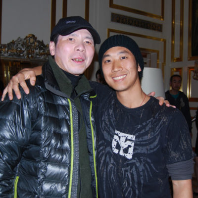 Director Feng Xiaogang and Alfred Hsing